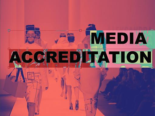 Media accreditation application